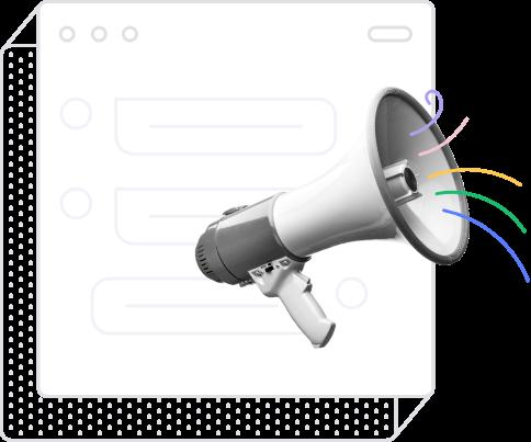 Hubert megaphone